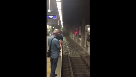 İstanbul'da metroyu su bastı