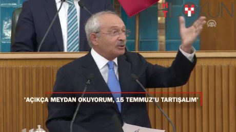 """Kılıçdaroğlu: """"O zata açıkca meydan okuyorum"""""""