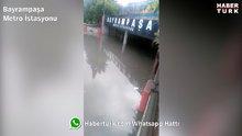 Haberturk.com okurlarının kamerasından İstanbul'daki sel