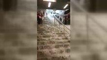Gayrettepe Metro İstasyonu sular altında