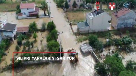 İstanbul'da selin yaraları sarılıyor: Sürüklenen vatandaşlar kamerada