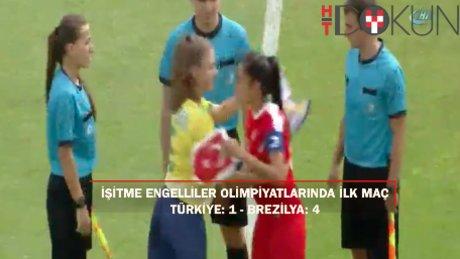 Olimpiyatlara tatsız başlangıç: Türkiye: 1 - Brezilya: 4