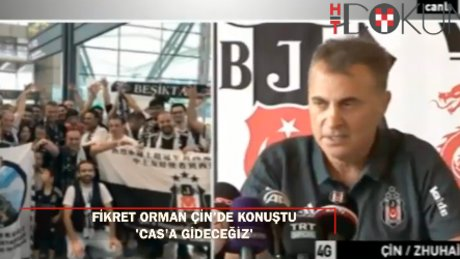 """Beşiktaş Başkanı Fikret Orman: """"Avrupa maçlarına taraftar götürmeyeceğiz"""""""