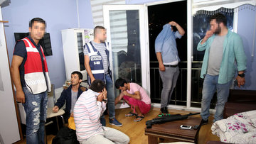 Günlük kiralık evlere operasyon