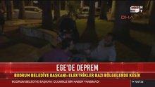 Bodrum Belediye Başkanı deprem sonrası konuştu