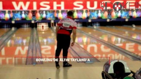 Bowling'de altın madalya Tayland'ın