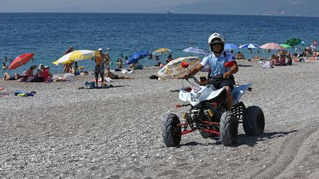 Dünyaca ünlü plajda yeni uygulama