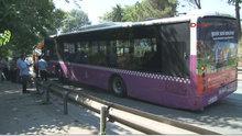 Beylerbeyi Tüneli'nde halk otobüsü kaza yaptı: 11 yaralı