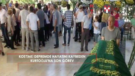 Kos'ta hayatını kaybeden Kurtoğlu için son görev