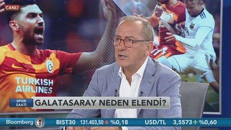 Fatih Altaylı - Spor Saati / 1.Bölüm (24.07.2017)
