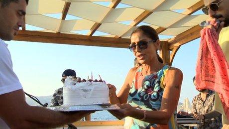 Doğum gününde depreme yakalanan Derya Tuna o anları anlattı