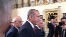 Cumhurbaşkanı Erdoğan'dan, Görmez'le ilgili: Zaten tartışılması için kurdum cümleyi