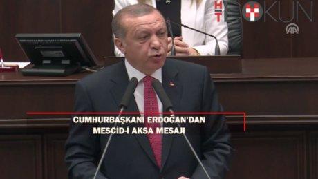 """Cumhurbaşkanı Erdoğan: """"Mübarek beldelerimizi korumak iman meselesidir"""""""