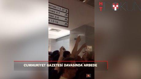 Cumhuriyet gazetesi davasında gazeteciler salona giremedi