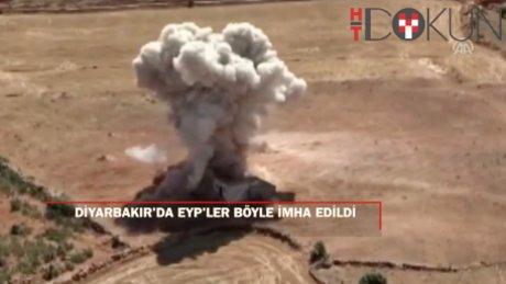 Diyarbakır'da 2 el yapımı patlayıcı imha edildi