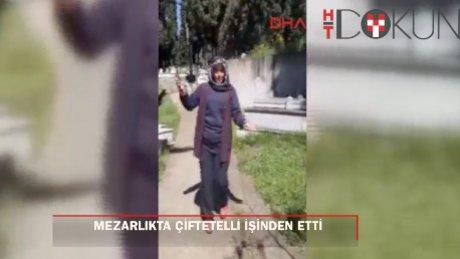 Mezarlıkta çiftetelli oynayan 2 işçi işten atıldı