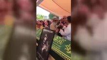 Harun Kolçak'ın cenazesinde fotoğraf rezaleti