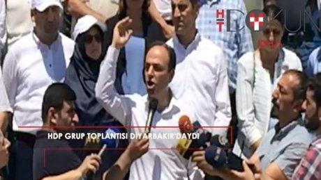 HDP Grup toplantısı Diyarbakır'daydı
