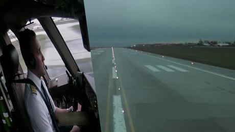 Boeing 777'nin İstanbul'dan kalkışı böyle görüntülendi