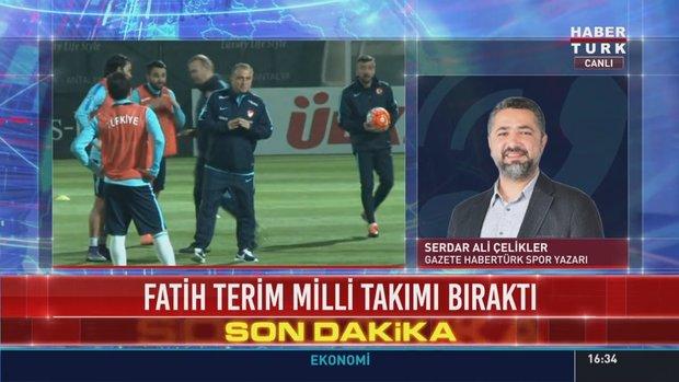 """Serdar Ali Çelikler, """"Fatih Terim görevden alınmıştır"""""""