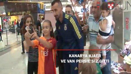 Fenerbahçe Avusturya'ya Van Persie ve Kjaer'siz gitti