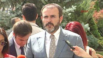 AK Parti Sözcüsü Mahir Ünal, gazetecilerin sorularını yanıtladı