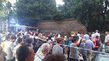 Şiddetli yağışta Şişli Ermeni Mezarlığı'nın istinat duvarı çöktü