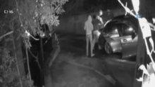 Lüks otelde yakalanan hırsızların güvenlik kamera görüntüleri ortaya çıktı