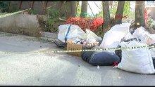 Çuvalın içinde erkek cesedi bulundu
