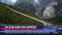En uzun asma yaya köprüsü