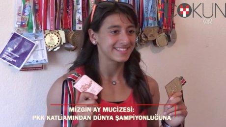 Mizgin Ay'dan büyük başarı: PKK katliamından dünya şampiyonluğuna!