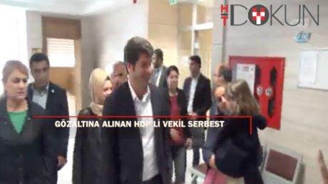 Gözaltına alınan HDP'li Başaran serbest