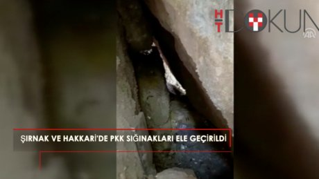 Şırnak'ta 9 PKK'lı etkisiz hale getirildi