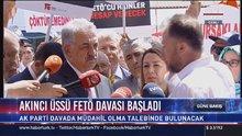 Hayati Yazıcı 'Akıncılar davası' hakkında basın açıklaması düzenledi