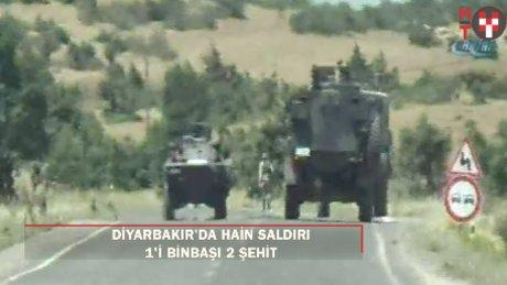 Lice'de hain saldırı: 1'i binbaşı 2 şehit