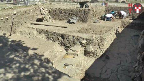 """Troia Antik Kenti"" kazıları"