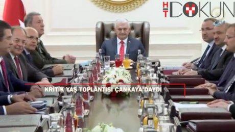 Kritik YAŞ toplantısı 3. kez Çankaya'daydı