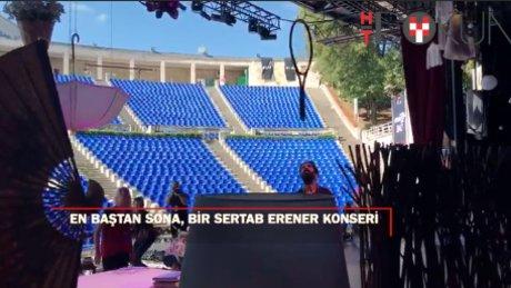 'En başından' sonuna Sertab Erener konserinin perde arkası