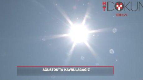 İstanbul sıcaktan kavrulacak
