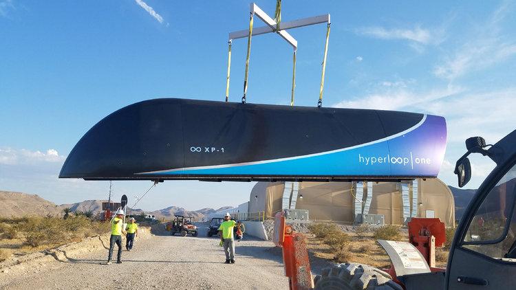 Hyperloop One'ın ikinci denemesinde rekor