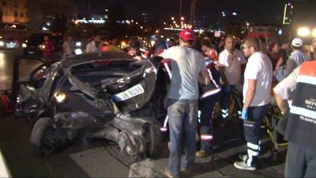 Kadıköy'de Kaza: 1 Ölü, 1 Yaralı