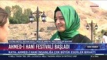 Bakan Kaya Ahmed-i Xani Festivali'ne katıldı