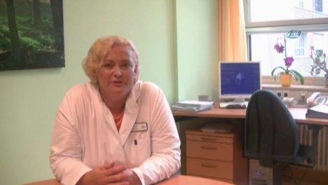 Alman kadın doktorun vefası