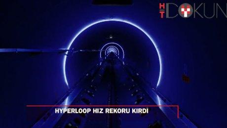 Hyperloop tren hız rekoru kırdı