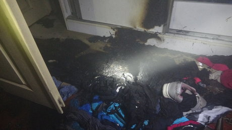 Tadilat sesine kızdı evini yaktı