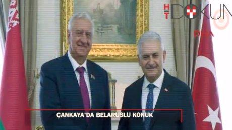 Başbakan, Miyasnikoviç'i kabul etti