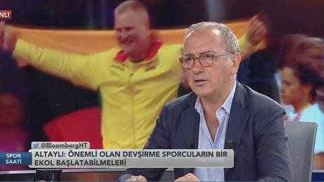 Fatih Kuşçu / Fatih Altaylı - Spor Saati / 1.Bölüm (07.08.2017)