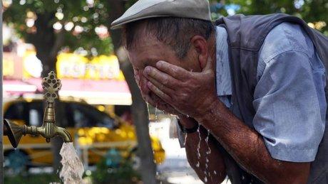 İstanbul'da hissedilen sıcaklık 43 dereceye kadar çıkacak