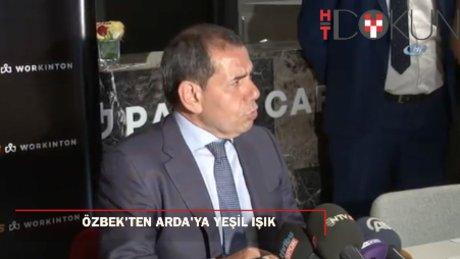 """Dursun Özbek: """"Arda'nın futbolu burada bırakması en büyük arzumuzdur"""""""