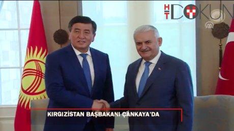 Başbakan Yıldırım Kırgız mevkidaşını kabul etti